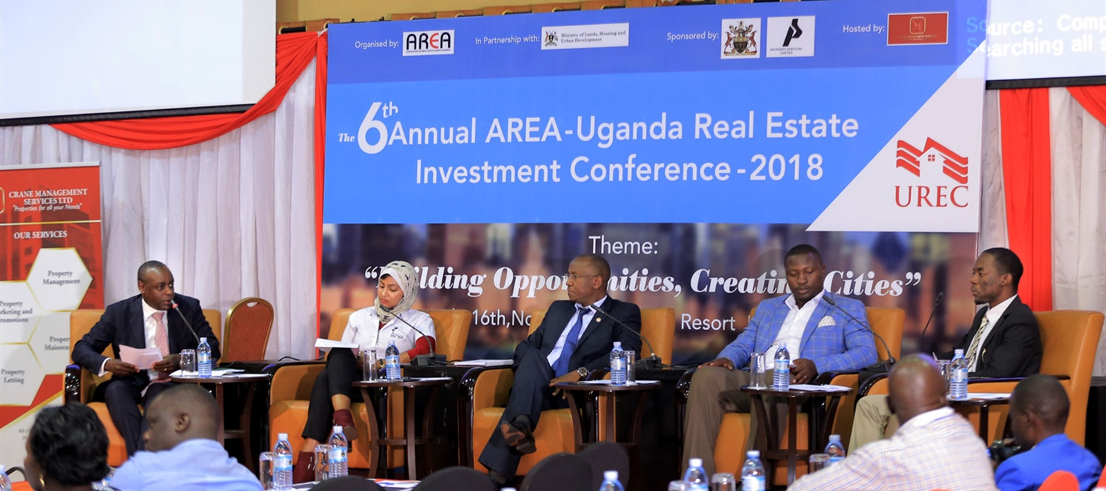 Panelists at AREA conference 2018